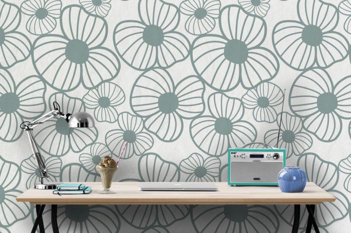 Papel-de-parede-Flores-Alice-verde