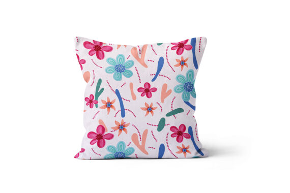 Almofada Estampa Flores Jojo